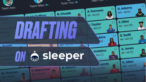 Drafting on Sleeper
